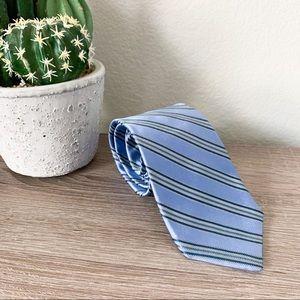 Michael Kors Striped Dress Tie in Blue